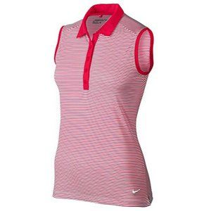 Nike Victory Stripe Sleeveless Golf Polo 2017 W